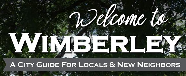 City Guide: Wimberley