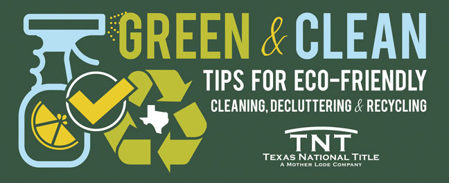 Eco-friendly Cleaning, Decluttering, and Recycling
